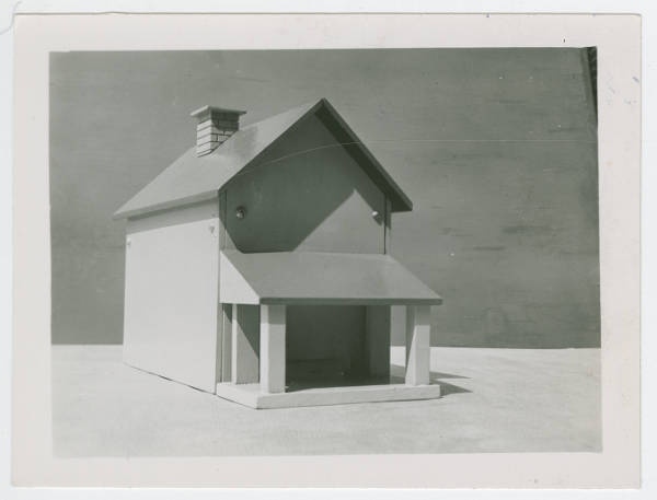 Ohio State School for the Blind bolted house model