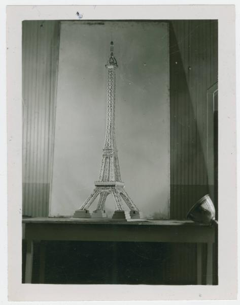Ohio State School for the Blind Eiffel Tower model