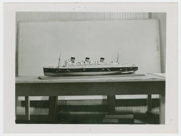 Ohio School for the Blind Queen Mary model