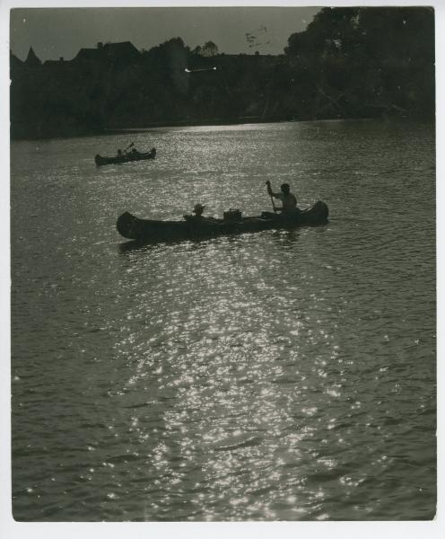 Canoeing at Island Park