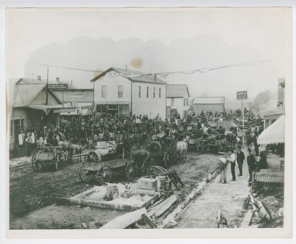 Unidentified town in Montgomery County