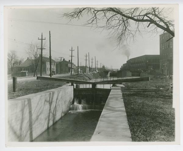 Miami and Erie Canal lock