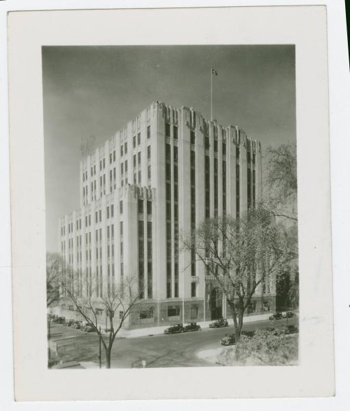 Bell Telephone building photograph
