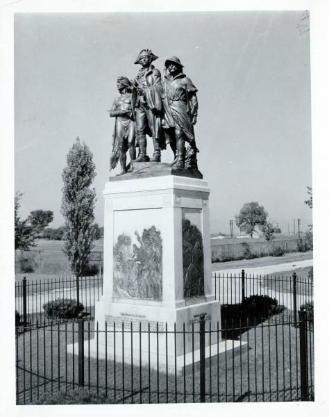 Battle of Fallen Timbers monument photograph
