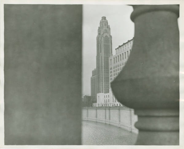 American Insurance Union Citadel and Ohio State office building photograph