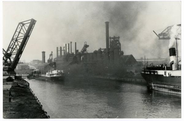 Republic Steel plant in Cleveland