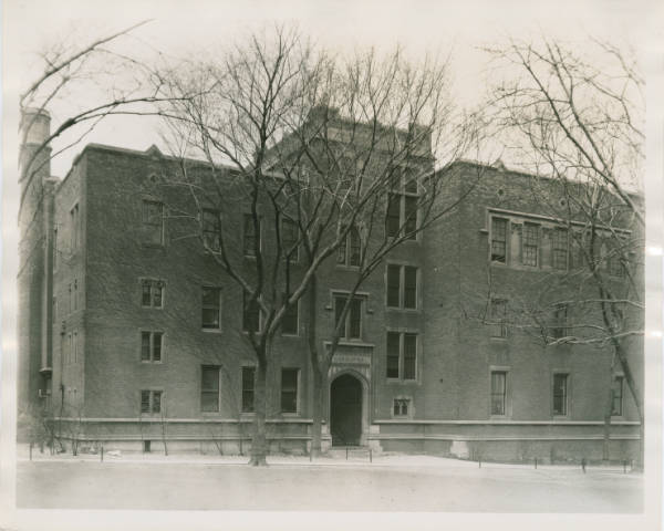 Chemistry building at Western Reserve University photograph