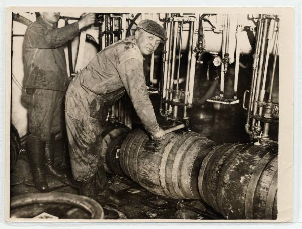 Brewery workers photograph