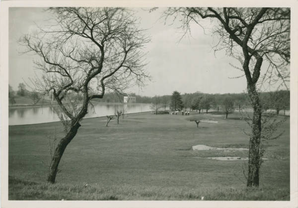 Columbus Water Works Showing Golf Links Photograph