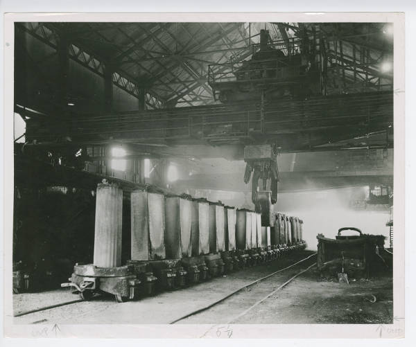 Youngstown Steel and Tube - stripping ingots