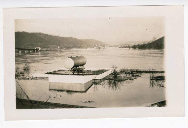 1937 Ohio River flood in Steubenville