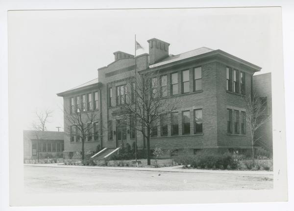 Brilliant High School building photograph