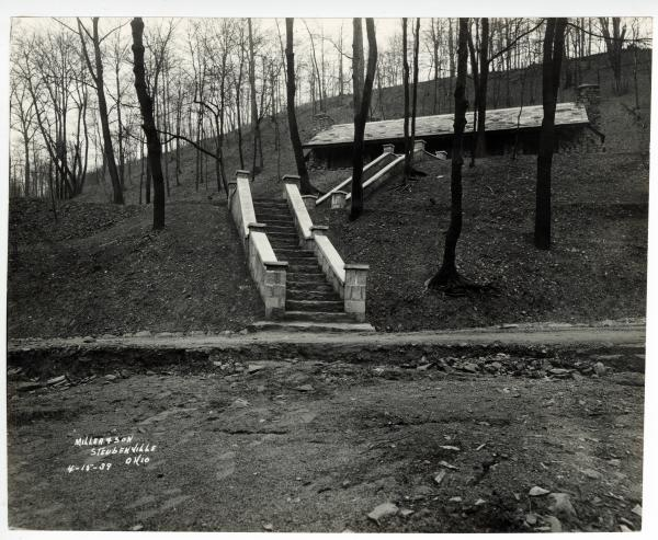 Beatty Park shelter lodge photograph