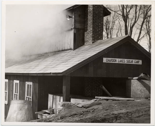 Sugar house in Geauga County