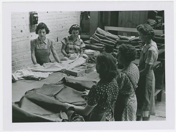 Factory workers in Fremont, Ohio