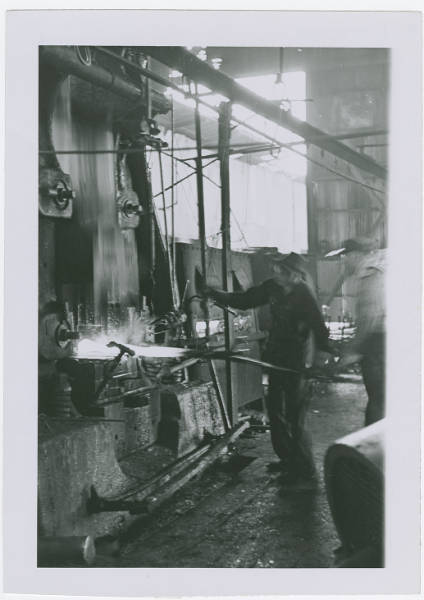 Foundry worker in Fremont, Ohio