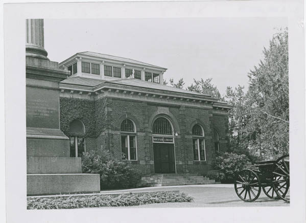Birchard Library in Fremont, Ohio photograph