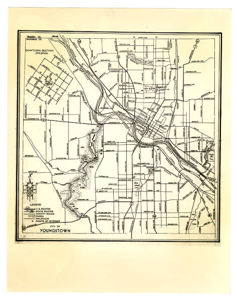 1937 Youngstown map