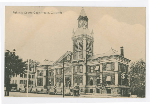 Pickaway County Court House in Circleville, Ohio