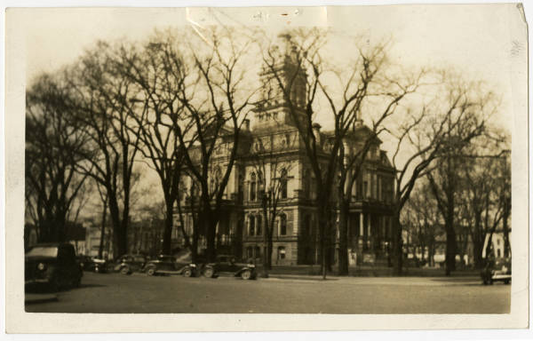 Licking County Courthouse photograph