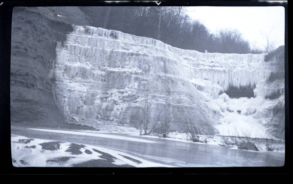 Cascade Falls in Painesville photograph