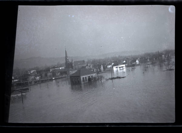 Entire community swallowed by the Great Flood of 1937
