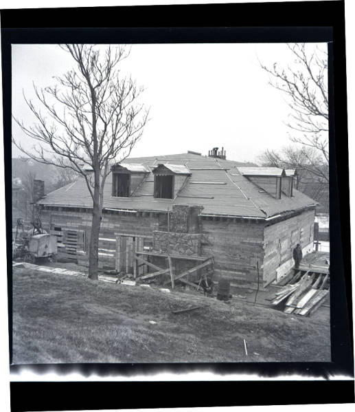 Works Progress Administration construction project