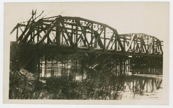 Bridge over the Tuscarawas River at Newcomerstown, Ohio