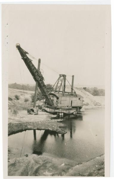 Steam Shovel Mining in Dundee Ohio