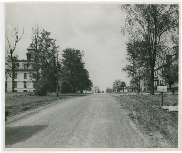 Central group of buildings at Union Village photograph