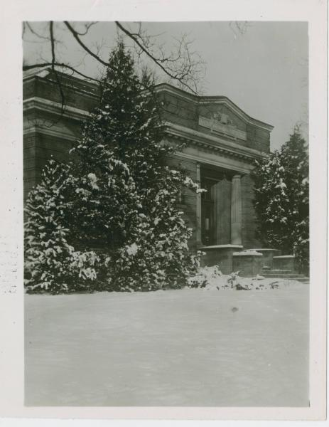 Carnegie Library at Otterbein College photograph