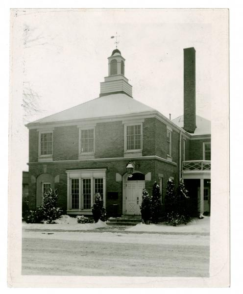 The municipal building in Westerville, Ohio