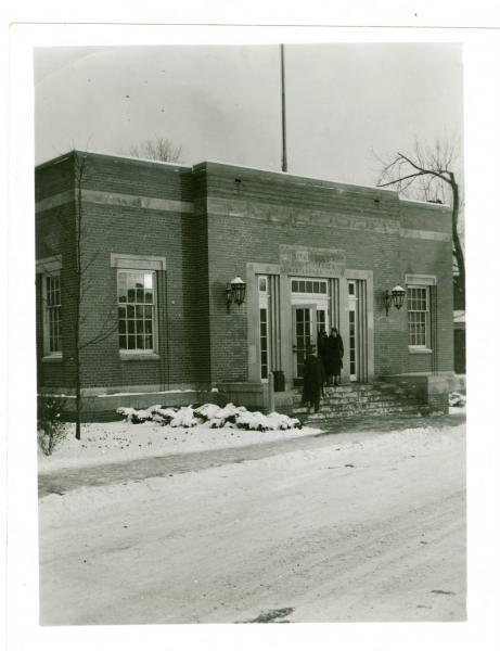 The village postoffice in Westerville, Ohio
