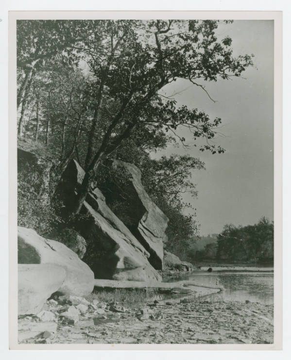 Coshocton County River photograph