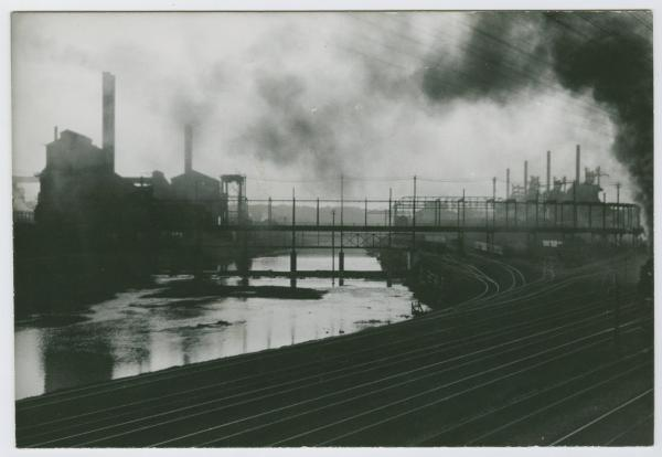 Steel mills in Youngstown, Ohio