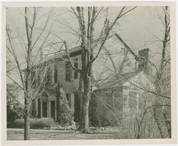 Paint Hill, home of George Renick in Chillicothe, Ohio
