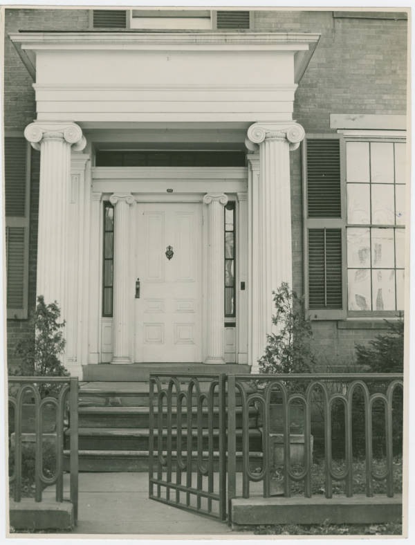 Doorway of the Atwood House in Chillicothe, Ohio